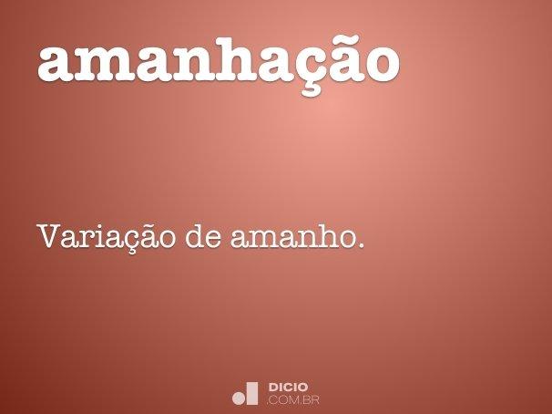 amanha��o