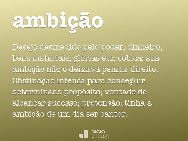 ambi��o