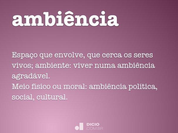 ambi�ncia