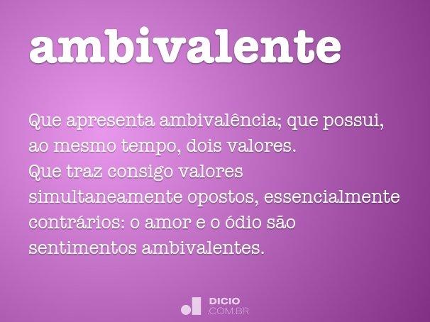 ambivalente