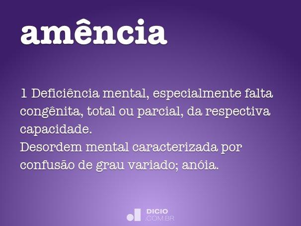 am�ncia