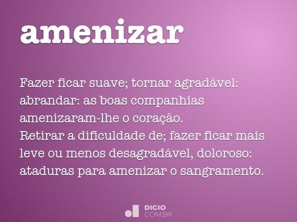 amenizar