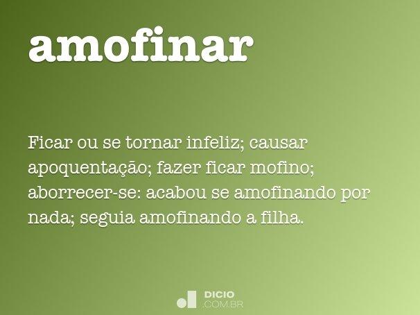 amofinar