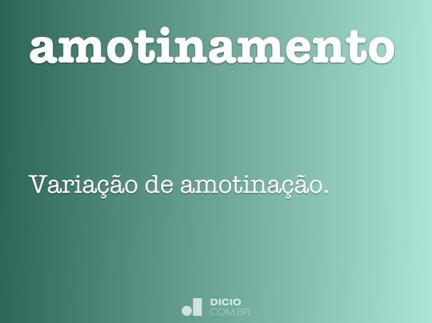 amotinamento