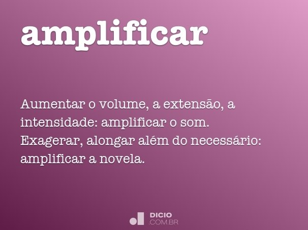 amplificar