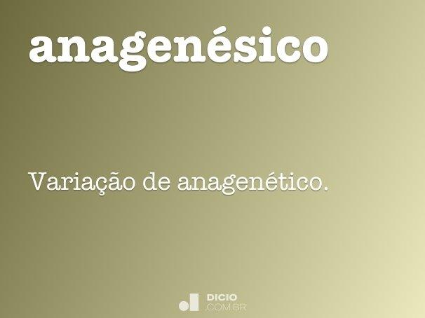 anagen�sico