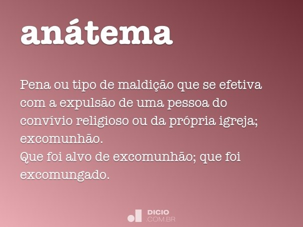 an�tema