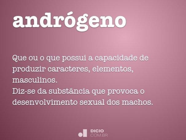 andrógeno