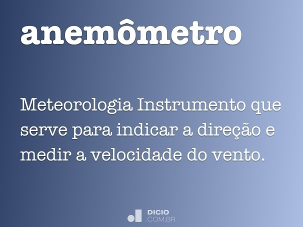 anem�metro
