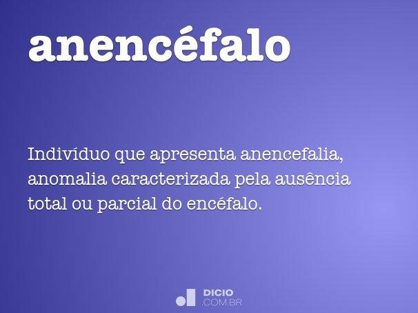 anenc�falo