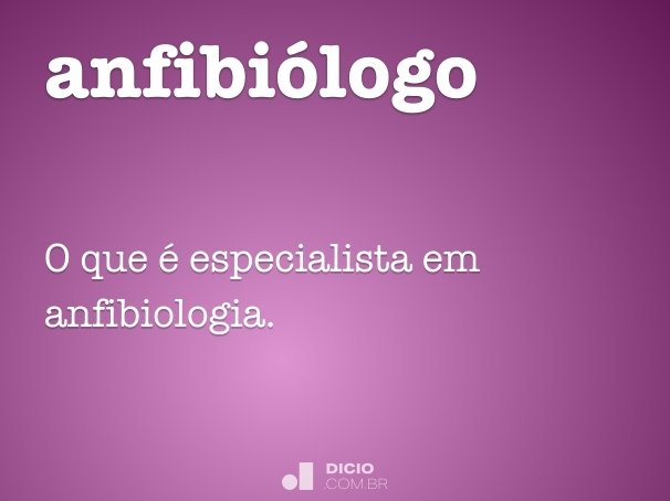 anfibi�logo