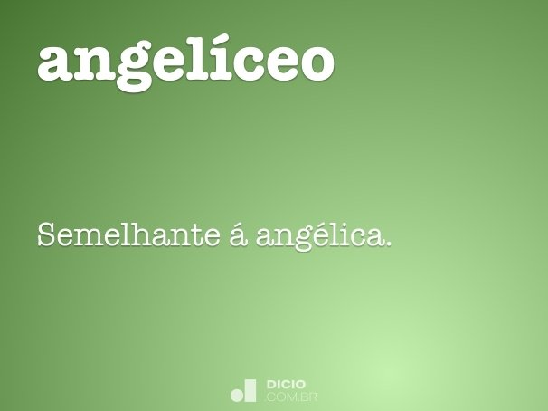 angelíceo
