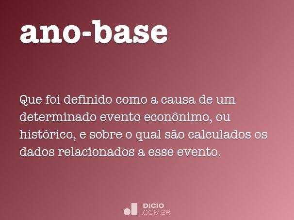 ano-base