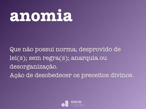 anomia - dicionário online de português, Skeleton