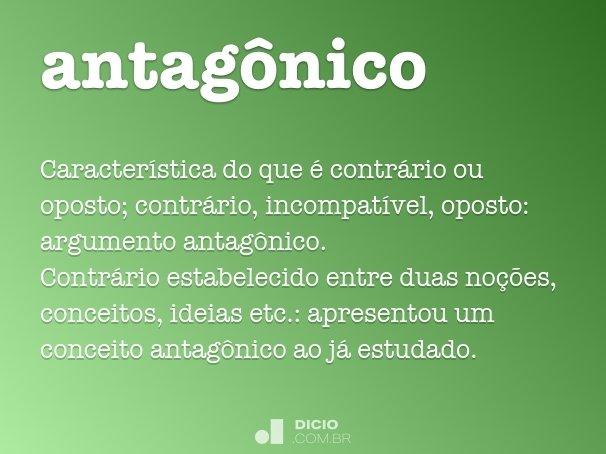 antagônico