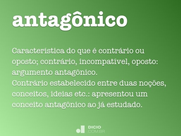 antag�nico