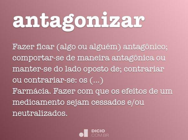 antagonizar