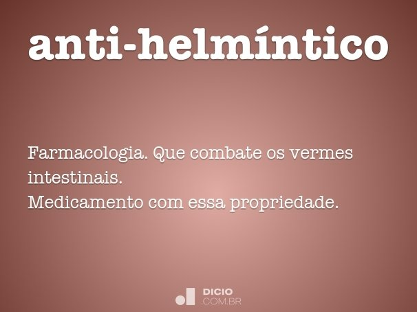 anti-helm�ntico