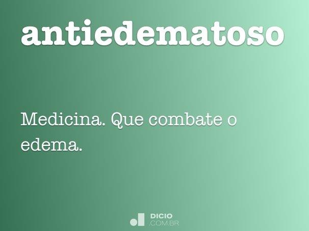 antiedematoso
