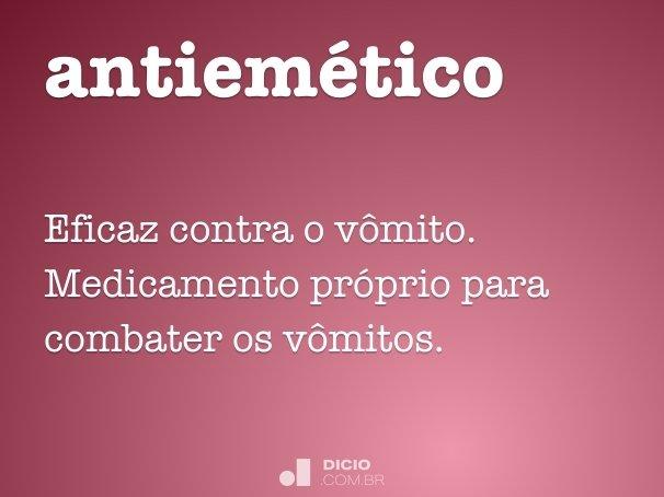 antiem�tico