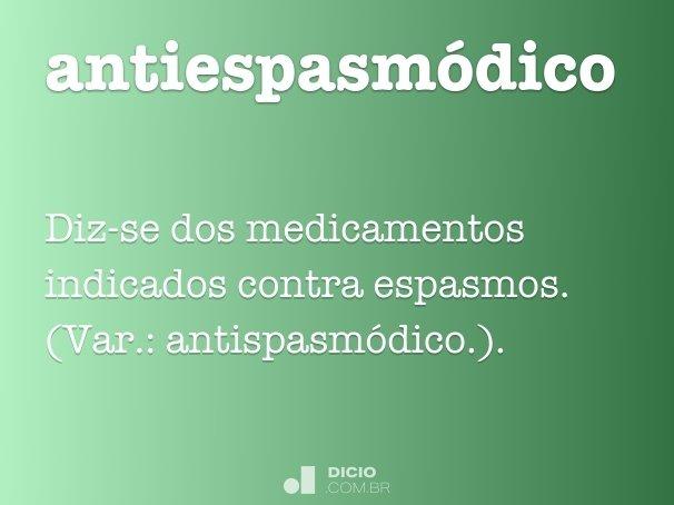 antiespasmódico