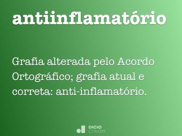 antiinflamatório