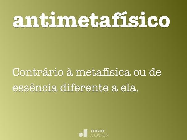 antimetafísico