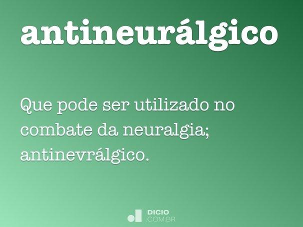 antineurálgico
