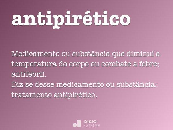 antipir�tico