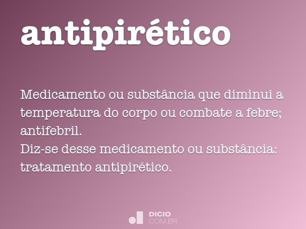antipirético