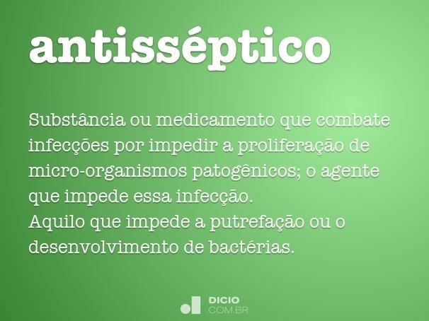 antisséptico