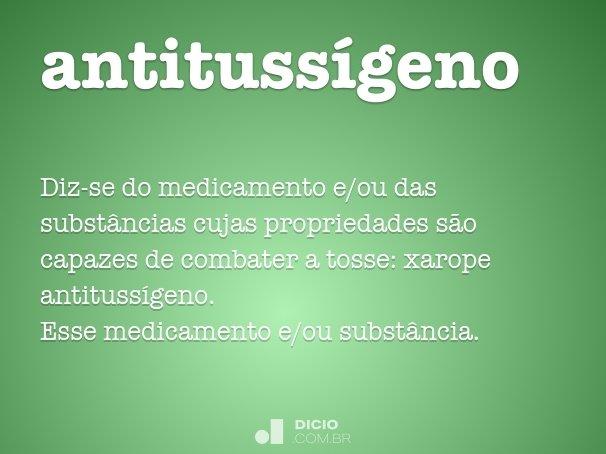 antitussígeno