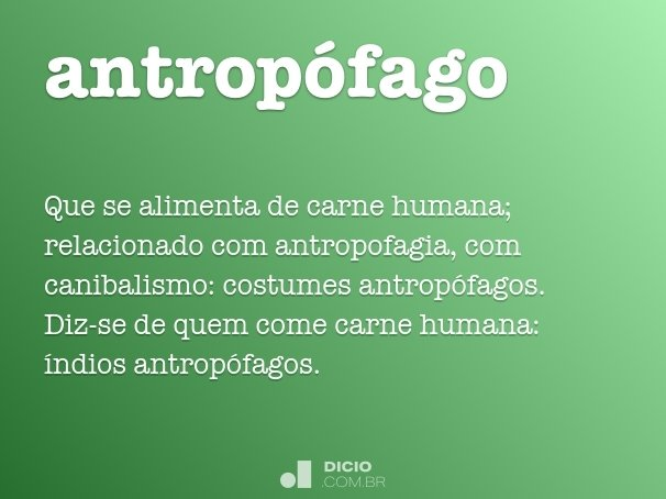 antropófago
