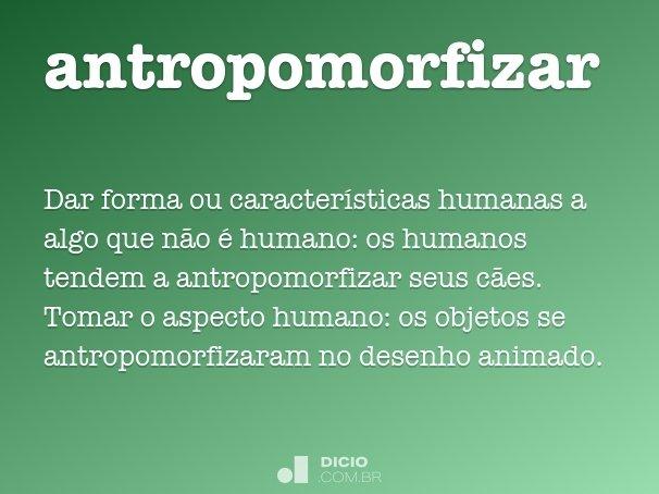 antropomorfizar