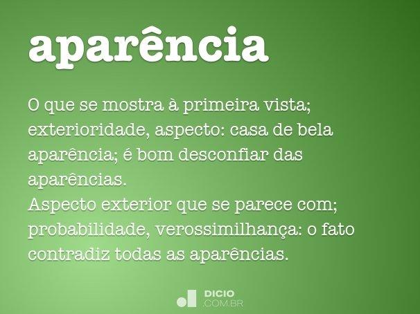 apar�ncia