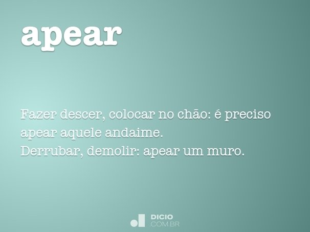 apear