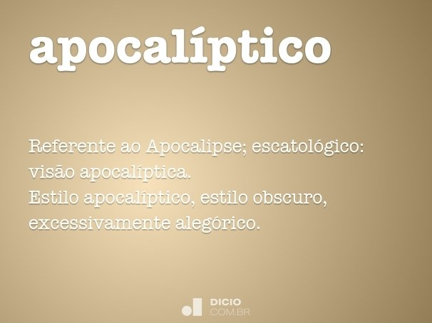 apocalíptico