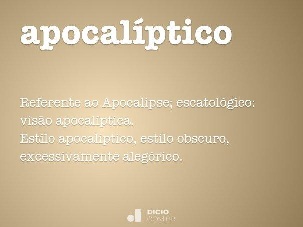 apocal�ptico