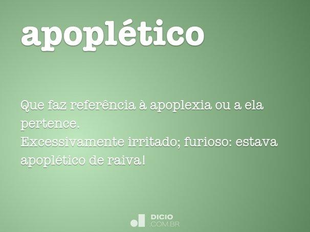 apoplético