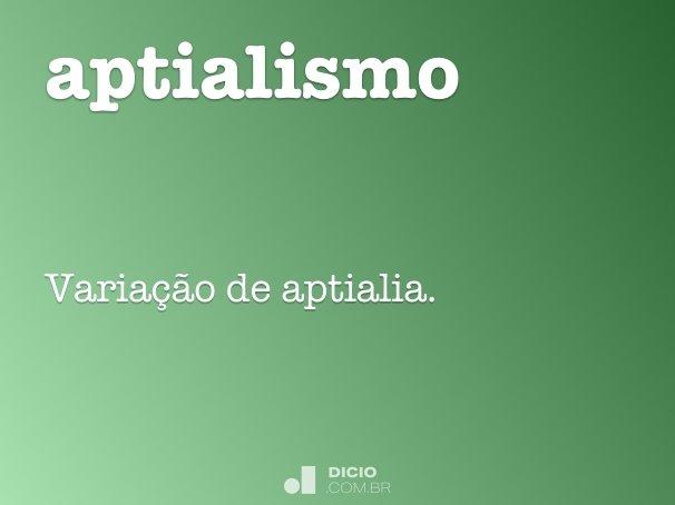 aptialismo