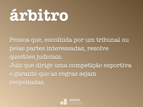 �rbitro