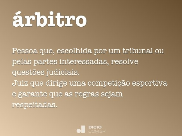 árbitro