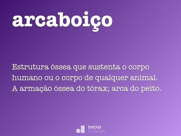 arcaboi�o
