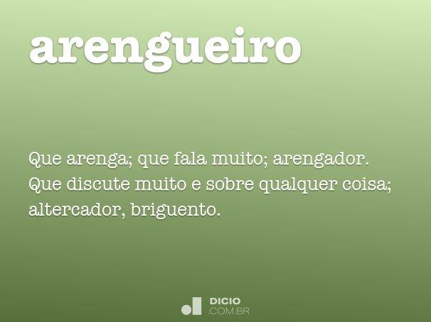 arengueiro