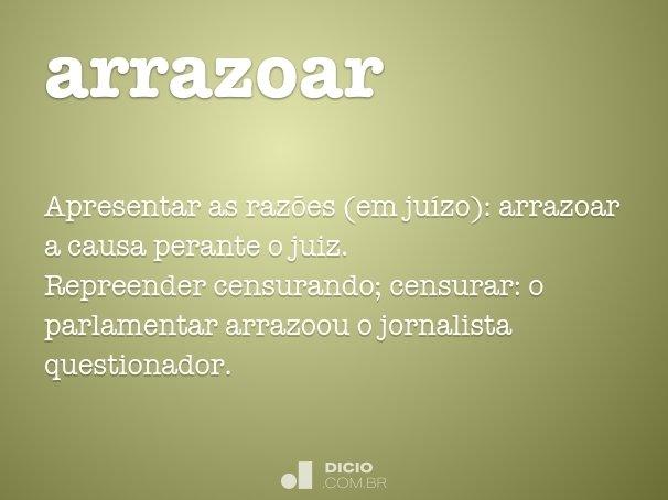 arrazoar