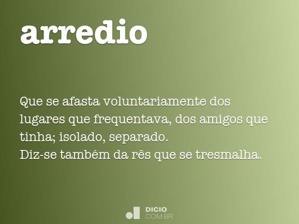 arredio
