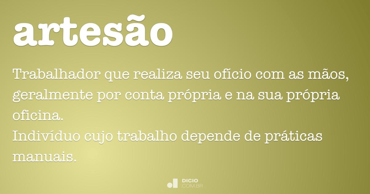 Lojas Virtuais Artesanato ~ Artes u00e3o Dicionário Online de Portugu u00eas