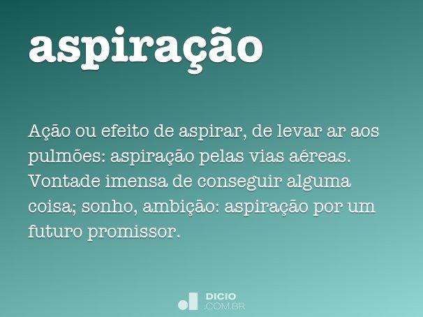 aspiração