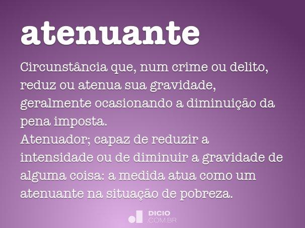 atenuante