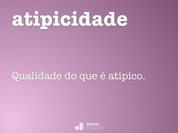 atipicidade